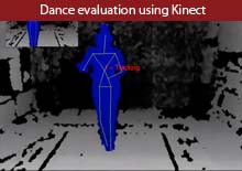 Dance evaluation using Kinect