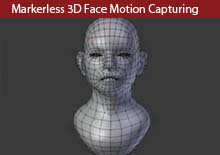 Markerless 3D Face Motion Capturing